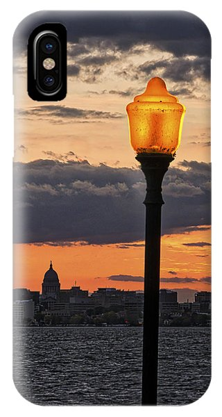 Capitol - Madison And Lamp IPhone Case