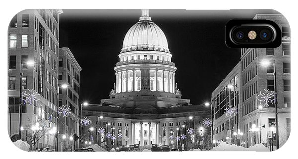Capitol Madison Wisconsin IPhone Case