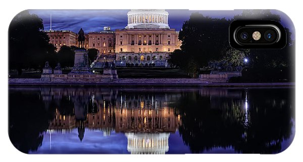 Capitol Morning IPhone Case