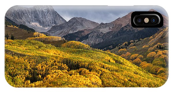 Capitol Peak In Snowmass Colorado IPhone Case