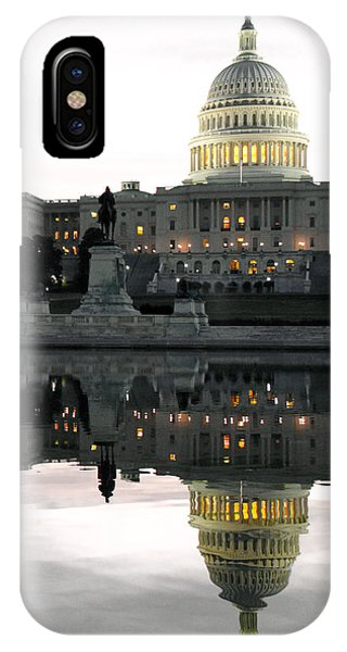 Capitol Reflection IPhone Case