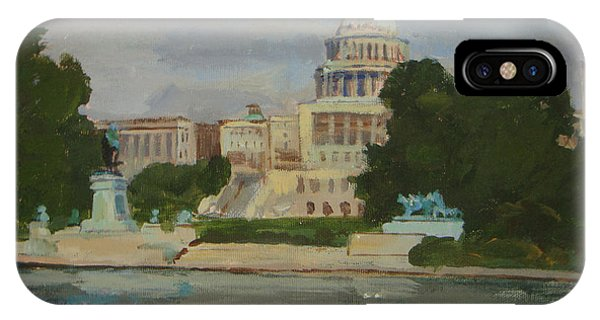 Capitol Reflections IPhone Case