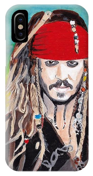 Cap'n Jack Sparrow IPhone Case