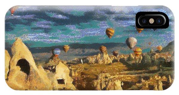 Cappadocia Ballons Fiesta IPhone Case