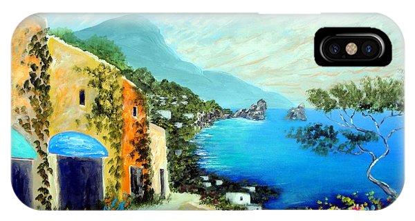 Capri Fantasies IPhone Case
