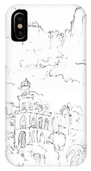 Capri Phone Case by Valerie Freeman