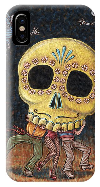 Caprichos Calaveras #2 IPhone Case