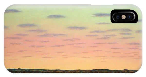 Farmland iPhone Case - Caprock Sunrise by James W Johnson