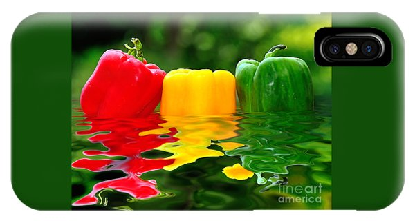 Capsicum Afloat IPhone Case