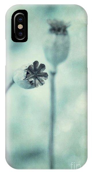 Teal iPhone Case - Capsules Series by Priska Wettstein