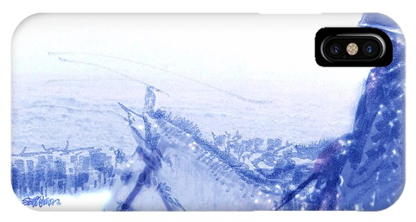 Capt. Call In A Snow Storm IPhone Case