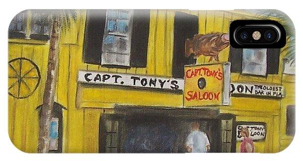 Capt. Tony's Saloon IPhone Case