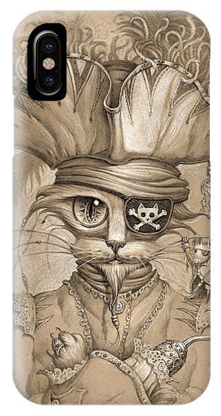Captain Claw Phone Case by Jeff Haynie
