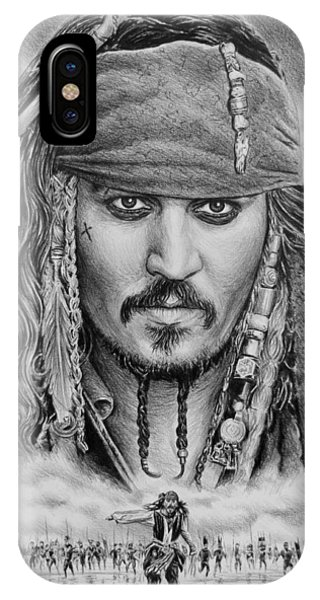 Captain Jack Sparrow IPhone Case