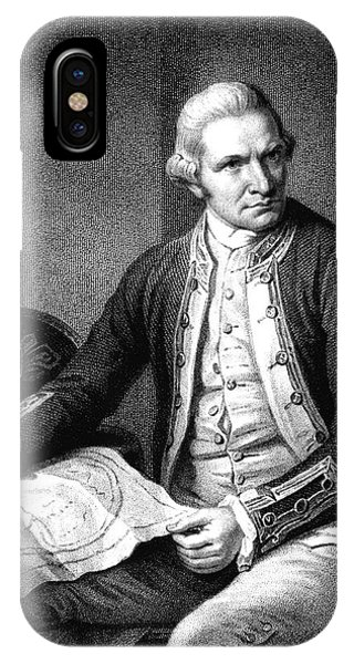 Captain James Cook Phone Case by Collection Abecasis