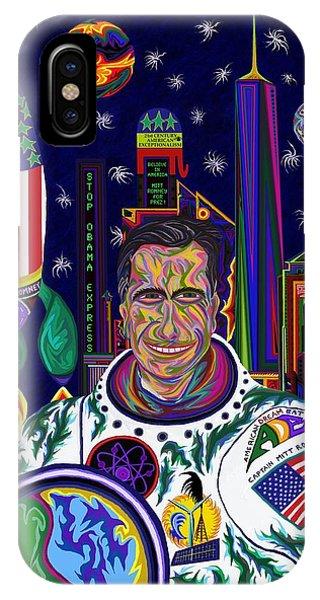 Captain Mitt Romney - American Dream Warrior IPhone Case