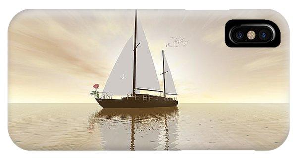 Captain Rose IPhone Case