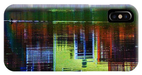 New England Landscape Illusion IPhone Case