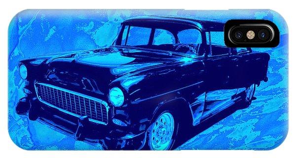 Car Art Chevy Nbr 459 Blues IPhone Case