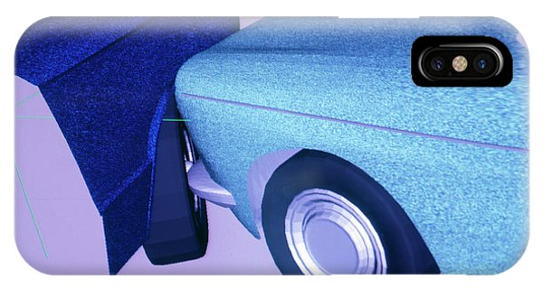 Car Crash Reconstruction Phone Case by Mauro Fermariello/science Photo Library