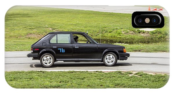 Car No. 76 - 04 IPhone Case