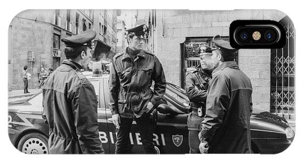 Carabinieri Phone Case by Luna Curran