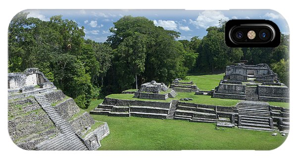Belize iPhone Case - Caracol Ancient Mayan Site, Belize by William Sutton