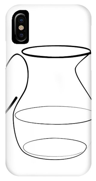 Carafe Line IPhone Case