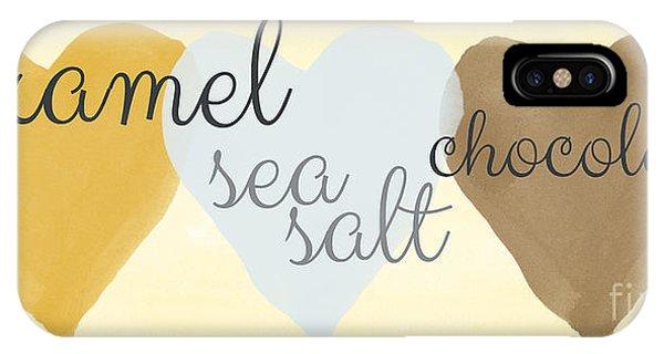 Tan iPhone Case - Caramel Sea Salt And Chocolate by Linda Woods