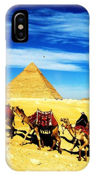 Caravan Of Camels 2 IPhone Case