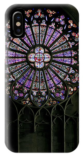 Carcassonne Rose Window IPhone Case