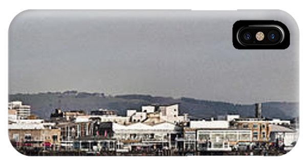 Cardiff Bay Panorama 2 IPhone Case