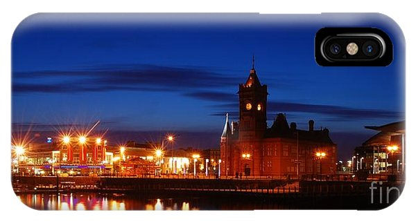Cardiff Bay IPhone Case