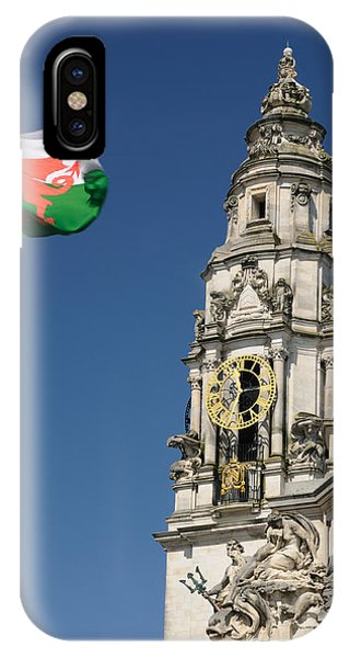 Cardiff City Hall IPhone Case