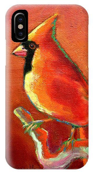 Cardinal On Red IPhone Case