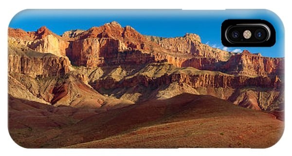 Grand Canyon iPhone Case - Cardines Panorama by Inge Johnsson