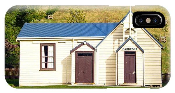 Cardrona Schoolhouse IPhone Case