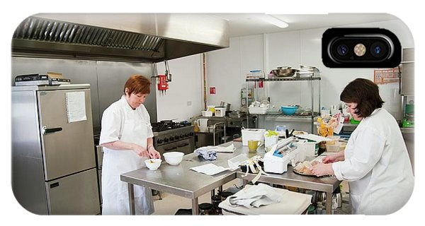Assisted Living iPhone Case - Care Home Kitchen by John Cole