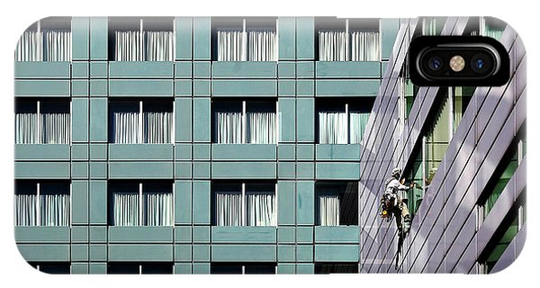 Working iPhone Case - Career Ladder. by Anna Niemiec