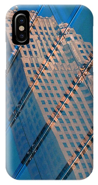 Carew Tower Reflection IPhone Case