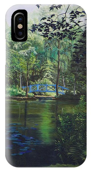 Carey's Pond Phone Case by Kenneth Young