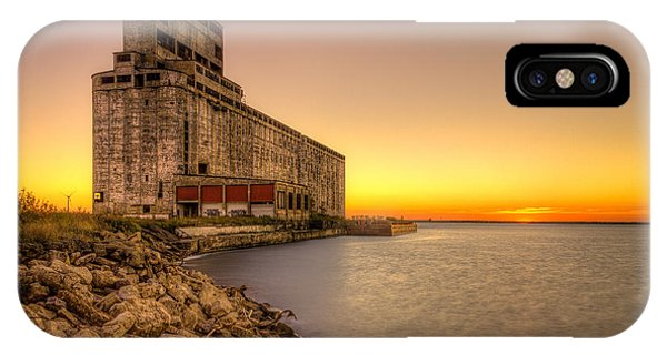 Cargill Pool Elevator Twilight IPhone Case
