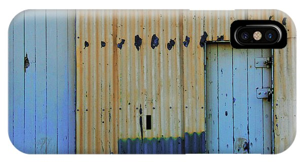IPhone Case featuring the photograph Cargo Shed  by Debbie Cundy