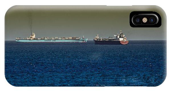 Cargo Steamer  IPhone Case