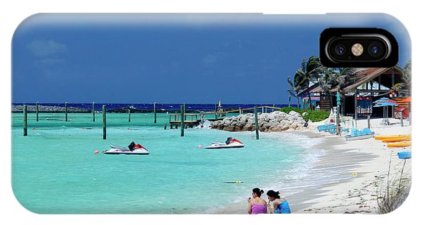Jet Ski iPhone Case - Caribbean, Bahamas, Castaway Cay by Kymri Wilt