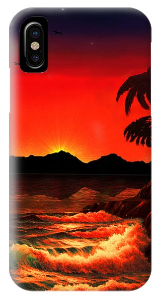 Caribbean Islands IPhone Case