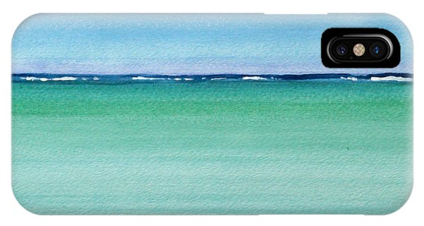Reaf Ocean Turquoise Waters Square IPhone Case