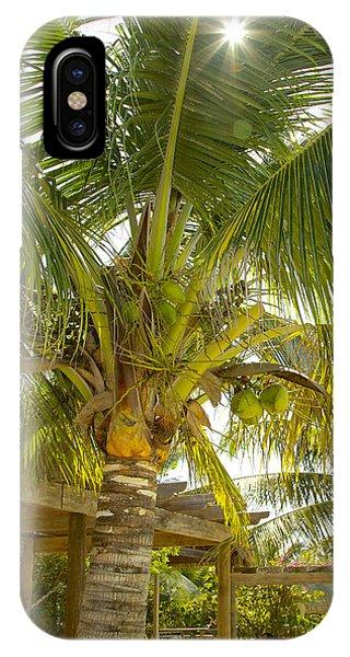 Caribbean Parasol IPhone Case