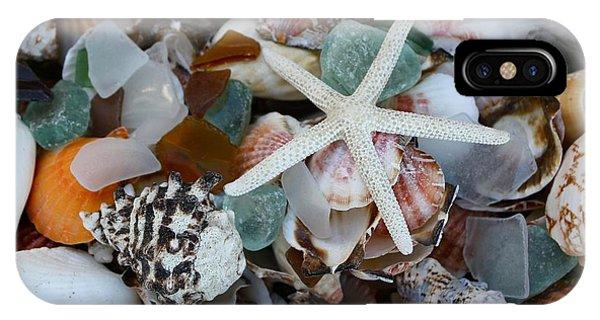 Caribbean Shells IPhone Case