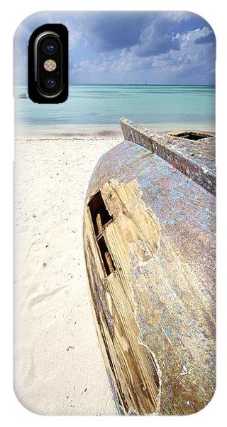 Caribbean Shipwreck IPhone Case